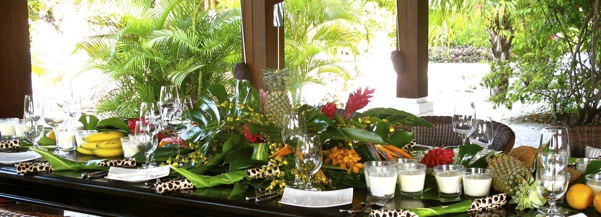 Wedding In Maldives Jungle Theme 2link Events 4 De Plan V De Plan V