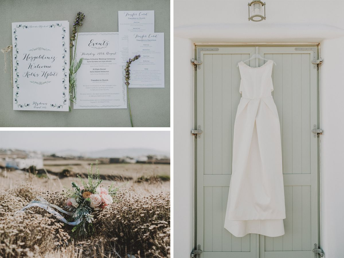 VINTAGE BEACH WEDDING @ MYKONOS GREECE - De Plan V | De Plan V